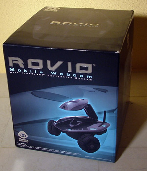 PRUEBA: Rovio – Mobile webcam