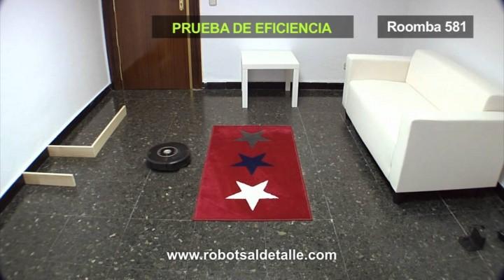 iRobot Roomba 581: Eficacia