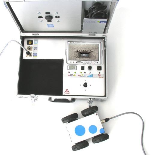 Visiobot, robot de inspección en conductos