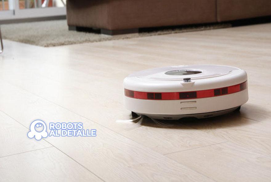 Presentando el robot aspirador inteligente Newteck