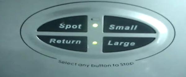botones del robot zas prom