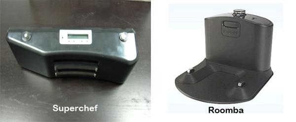mantenimiento de la base de carga de robot aspirador