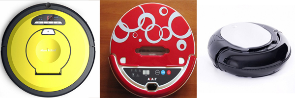 Robot aspirador sin sistema de navegación inteligente