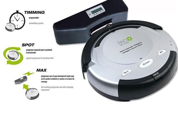 Presentando el robot aspirador Bath & Home