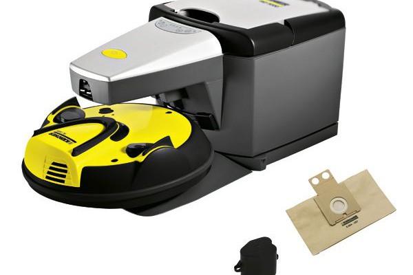 Presentando el Robot aspirador  RoboCleaner Karcher RC 3000