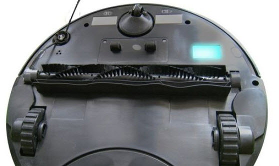 vista del robot aspirador eziclean vac-100