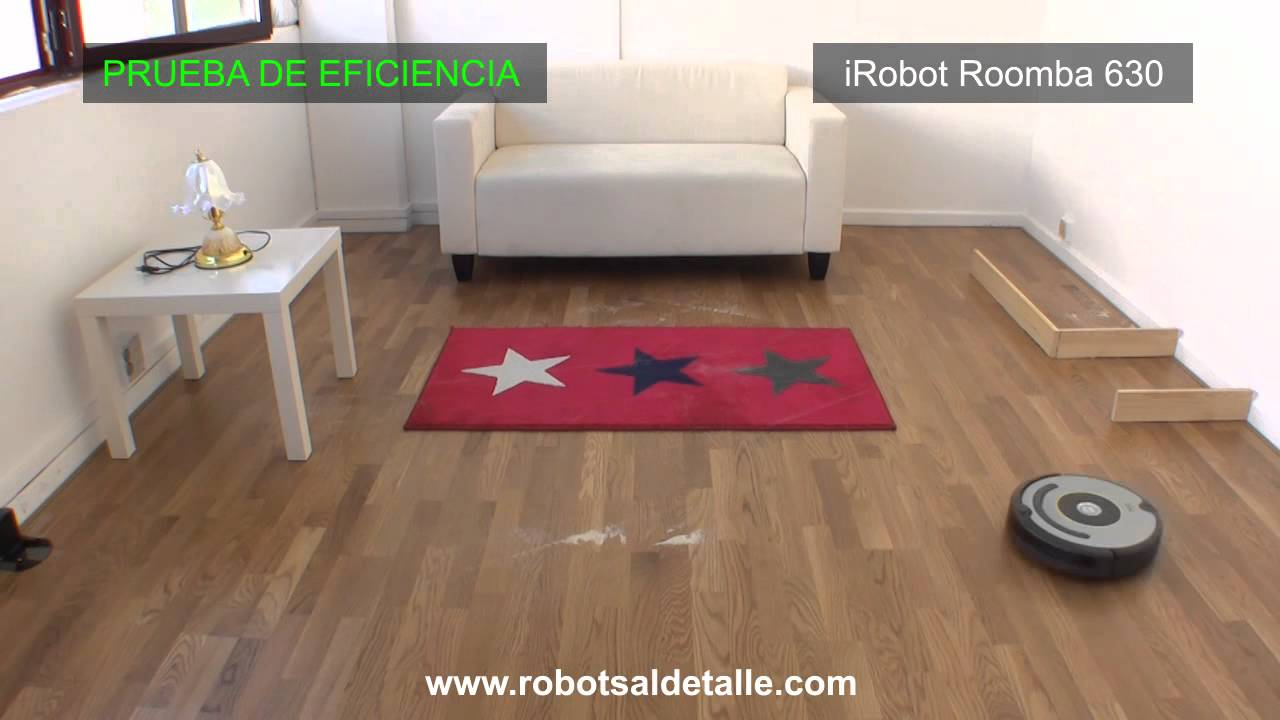 Roomba 630: Eficacia