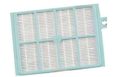detalle de un filtro HEPA