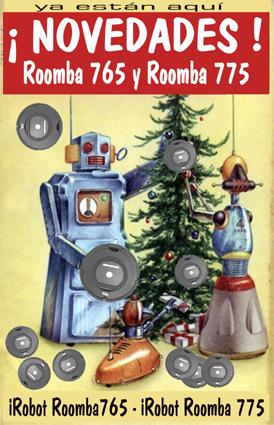 Nuevos robots aspiradores iRobot Roomba 765 y Roomba 775