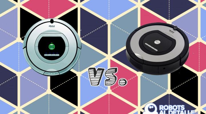 Robots aspiradores Roomba 765 y Roomba 775