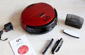 contenido de la caja del robot aspirador Q7