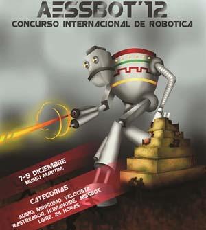 24 horas para hacer un robot aspirador: AESSBOT 12