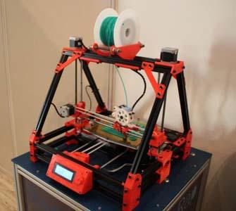 imprimiendo piezas robot aspirador