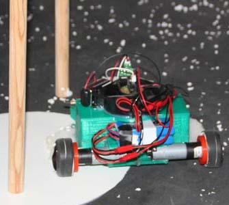 robot realizando una prueba