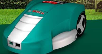 Robot cortacesped Indego de Bosch