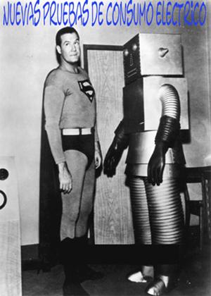 prueba del consumo eléctrico del robot aspirador