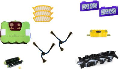 recambios para robots aspiradores