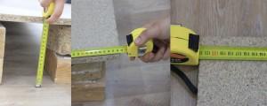 Medidas de la rampa para robots aspiradora