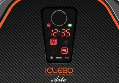panel robot aspirador iClebo Arte