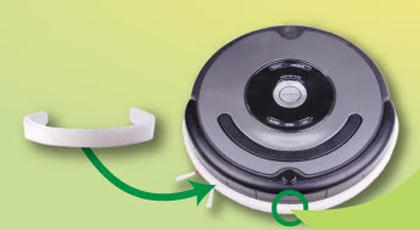 protector contra rayas para robot aspirador Roomba
