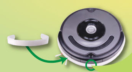 Protector contra rayas para Roomba