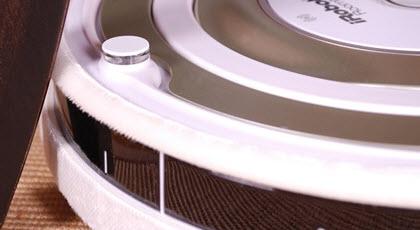Roomba admite 2 bandas protectoras