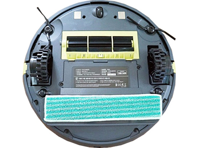 robot aspirador Rydis MR 6550 parte inferior