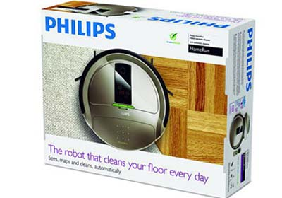 Robot aspirador Philips HomeRun