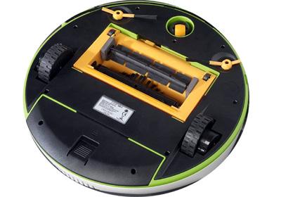 robot aspirador Conga parte inferior