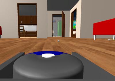 Robot Vacuum Simulator 2013 comienza el juego