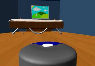el dormitorio del simulador