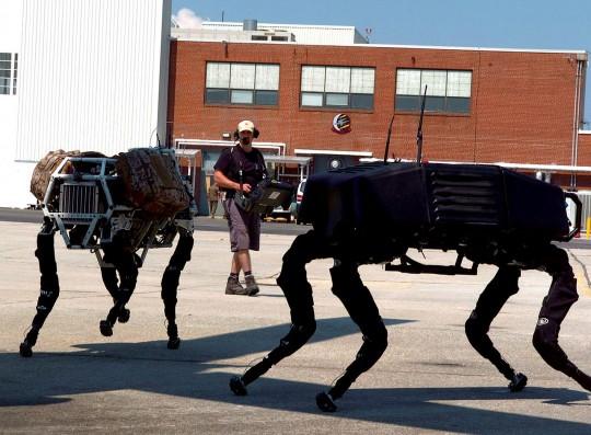 Robótica para usos militares