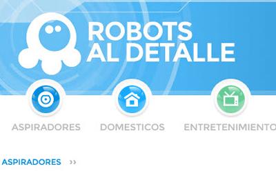 Cómo usar la nueva web de Robots al detalle