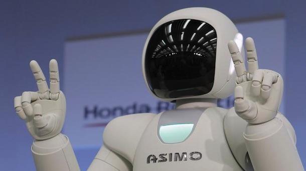 El robot ASIMO: un nuevo guía en el museo