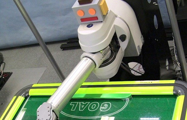 Robot invencible al Air-Hockey