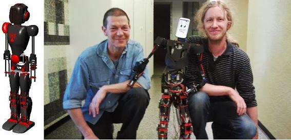 Jinn: El robot controlado por smartphone