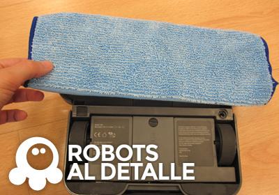 colocamos soporte mopa en iRobot Braava