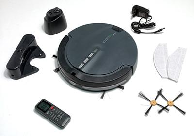 contenido caja robot aspirador Conga Slim