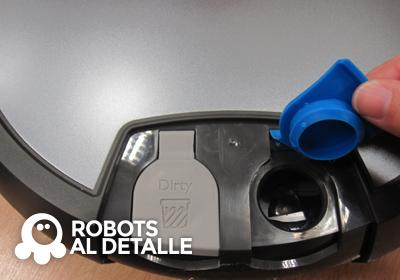 iRobot Scooba 390 entrada deposito agua limpia