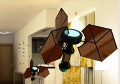 las alas del micro-robot son de grafeno