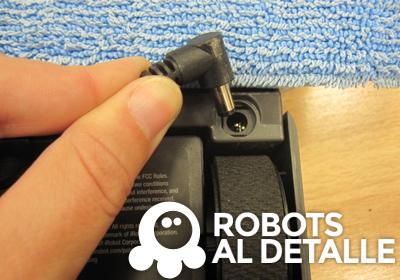 puerto de carga batería iRobot Braava