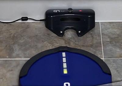 robot aspirador Q7 Plus base de carga