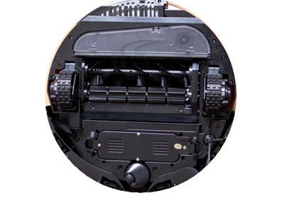 parte inferior robot aspirador Vileda M-488A