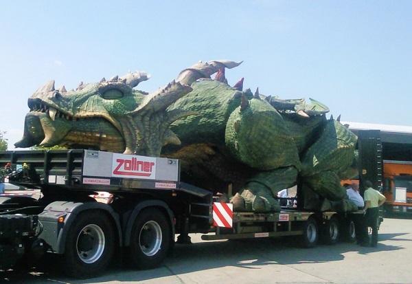 Tradinno, el robot más grande del mundo