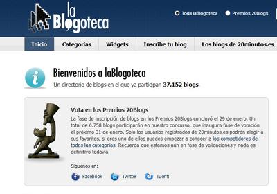ya estás en la blogoteca