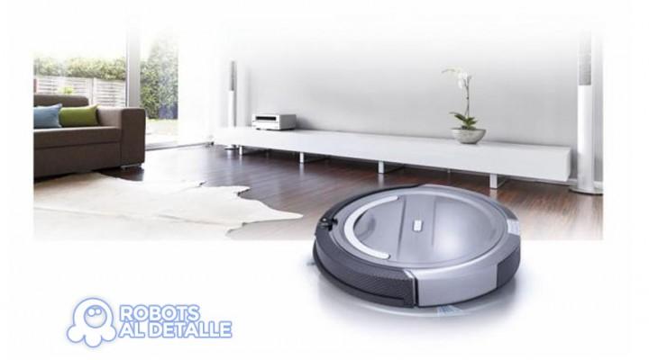 Robot aspirador de la promoción de El Mundo