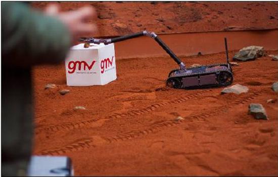 Avatar One Eod: El pequeño robot antibombas español
