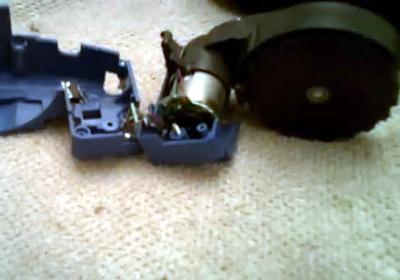 limpiamos el interior del mpdulo de la rueda