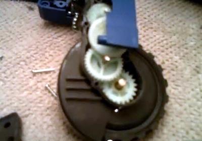 limpiamos los reductores de la rueda
