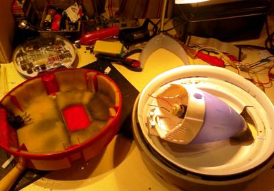 carcasa vieja para fabricar el Vacuuminator